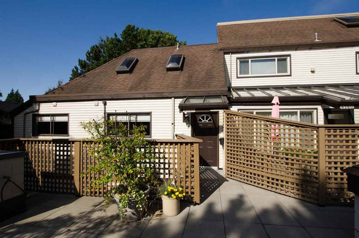 4744 48B STREET - Ladner Elementary Townhouse for sale, 2 Bedrooms (R2451181)