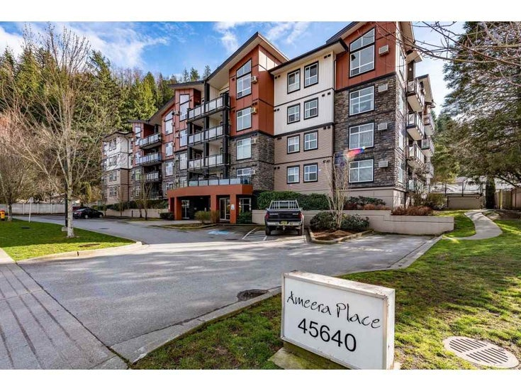 208 45640 ALMA AVENUE - Vedder S Watson-Promontory Apartment/Condo for sale, 1 Bedroom (R2452341)