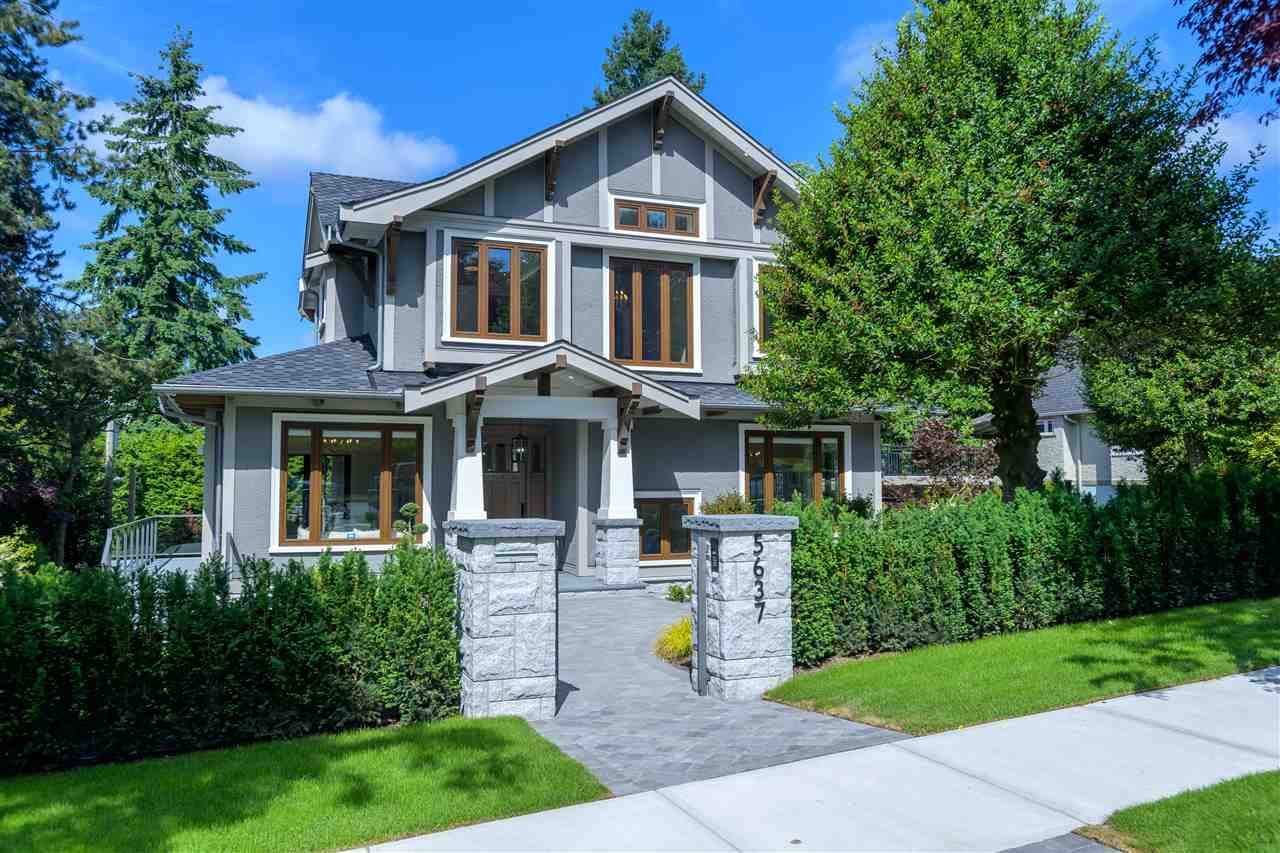 5637 LABURNUM STREET - Shaughnessy House/Single Family for sale, 5 Bedrooms (R2456020)