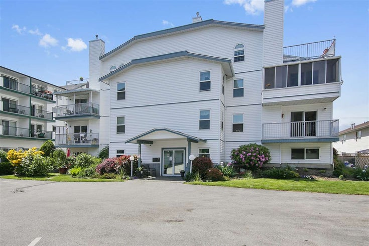 206 9175 EDWARD STREET - Chilliwack W Young-Well Apartment/Condo for sale, 2 Bedrooms (R2456795)