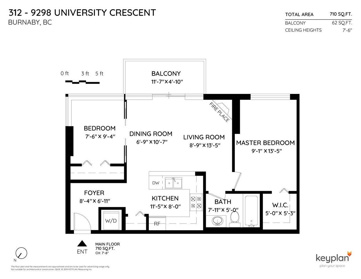 312 9298 UNIVERSITY CRESCENT - Simon Fraser Univer. Apartment/Condo for sale, 2 Bedrooms (R2457442) - #17