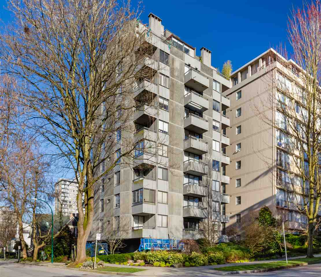 402 1108 NICOLA STREET - West End VW Apartment/Condo for sale, 1 Bedroom (R2458611) - #1