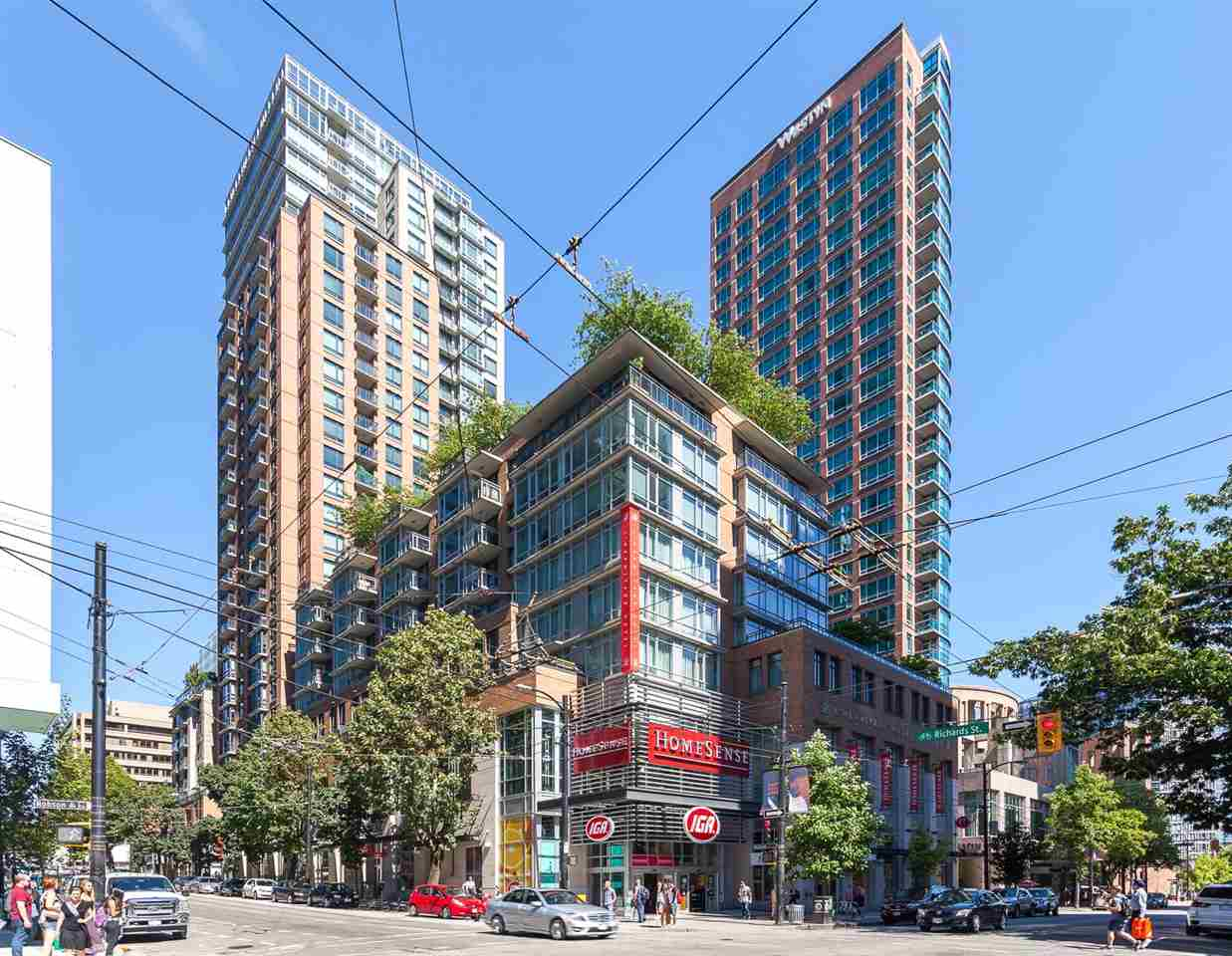 905 788 RICHARDS STREET - Downtown VW Apartment/Condo for sale, 1 Bedroom (R2458988) - #1