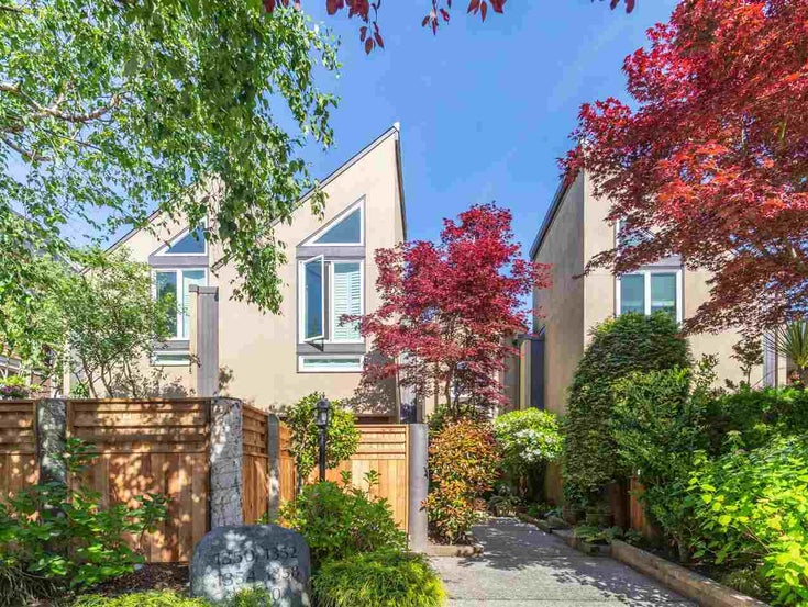 1358 CYPRESS STREET - Kitsilano Townhouse for sale, 2 Bedrooms (R2459445)