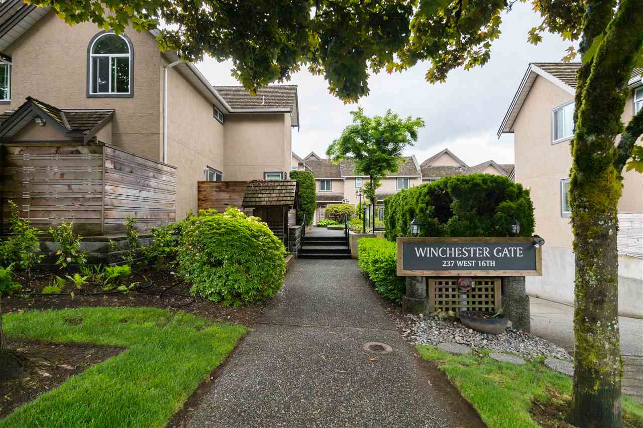 14 237 W 16TH STREET - Central Lonsdale Townhouse for sale, 2 Bedrooms (R2459966) - #1