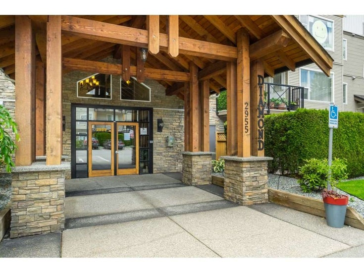 201 2955 DIAMOND CRESCENT - Abbotsford West Apartment/Condo for sale, 2 Bedrooms (R2461311)