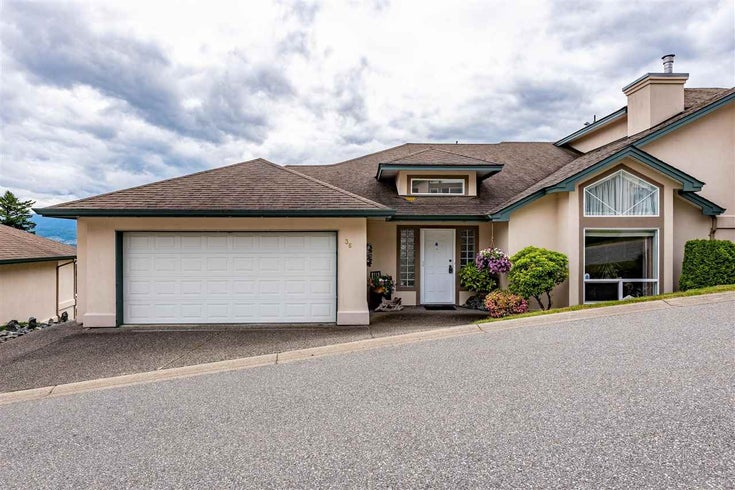 36 8590 SUNRISE DRIVE - Chilliwack Mountain Townhouse for sale, 3 Bedrooms (R2462461)
