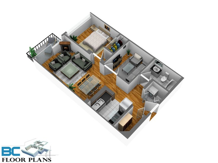 1202 2733 CHANDLERY PLACE - South Marine Apartment/Condo for sale, 1 Bedroom (R2463297)