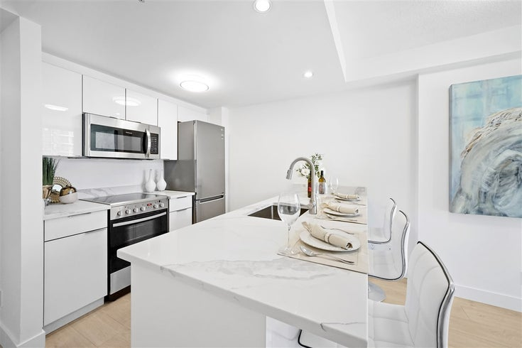 1203 1331 W GEORGIA STREET - Coal Harbour Apartment/Condo for sale, 1 Bedroom (R2463393)