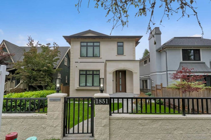 1851 W 37TH AVENUE - Quilchena House/Single Family for sale, 4 Bedrooms (R2463950)