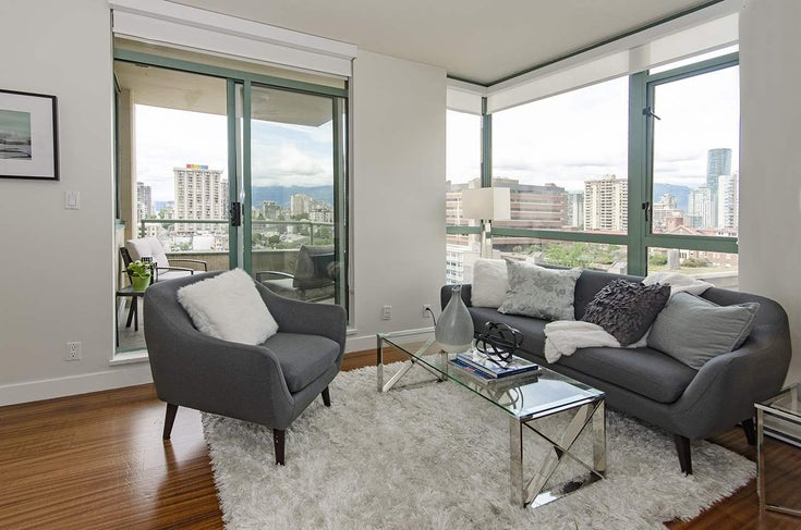 1206 1238 BURRARD STREET - Downtown VW Apartment/Condo for sale, 1 Bedroom (R2465351)