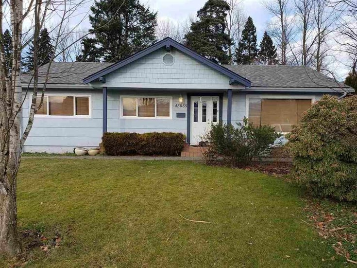 45855 BERKELEY AVENUE - Chilliwack N Yale-Well House/Single Family for sale, 3 Bedrooms (R2465763)
