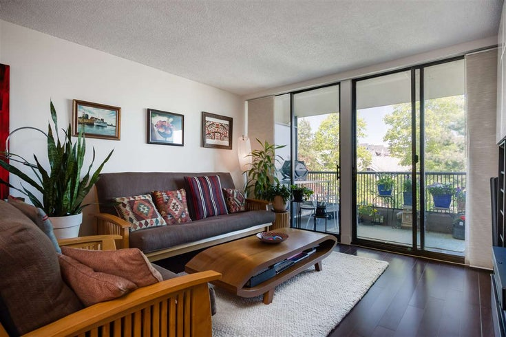 401 3760 ALBERT STREET - Vancouver Heights Apartment/Condo for sale, 2 Bedrooms (R2465768)