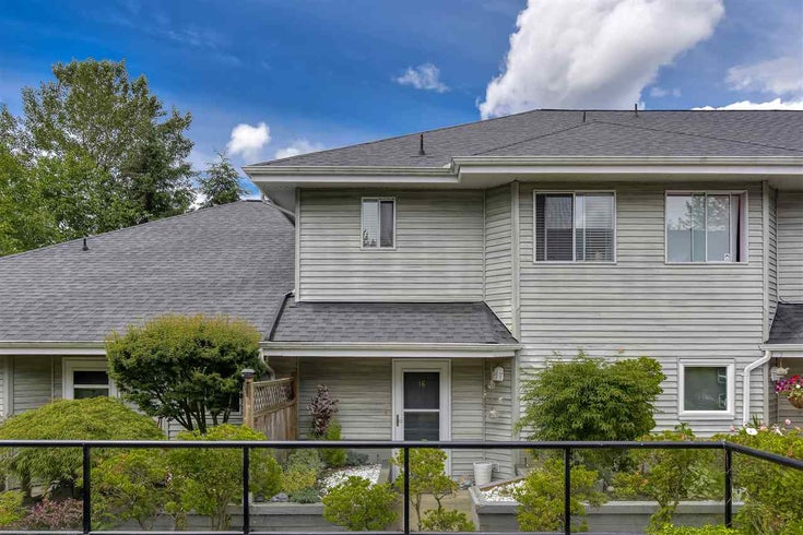 16 13660 84 AVENUE - Bear Creek Green Timbers Townhouse for sale, 2 Bedrooms (R2465809)