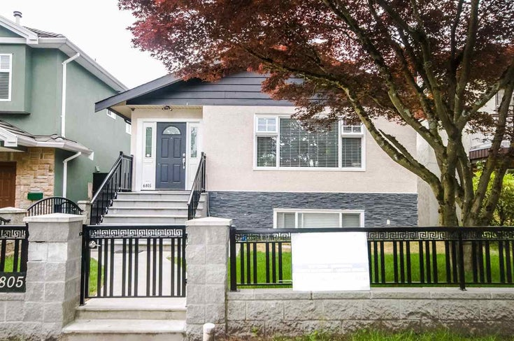 6805 SHERBROOKE STREET - South Vancouver House/Single Family for sale, 6 Bedrooms (R2466550)