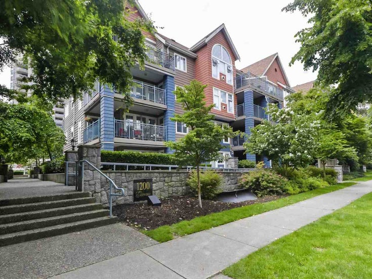 108 1200 EASTWOOD STREET - North Coquitlam Apartment/Condo for sale, 2 Bedrooms (R2466564)