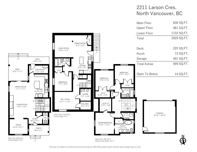 2211 LARSON CRESCENT - Central Lonsdale House/Single Family for sale, 4 Bedrooms (R2468206) - #21