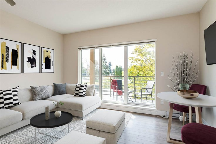 203 5811 177B STREET - Cloverdale BC Apartment/Condo for sale, 1 Bedroom (R2468875)