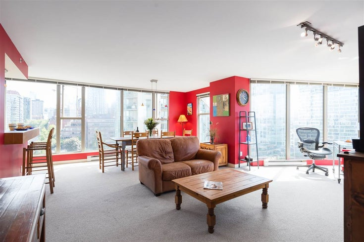 1401 1000 BEACH AVENUE - Yaletown Apartment/Condo for sale, 2 Bedrooms (R2469143)