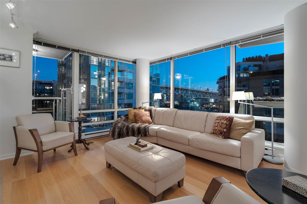 606 1500 HORNBY STREET - Yaletown Apartment/Condo for sale, 2 Bedrooms (R2469325) - #1