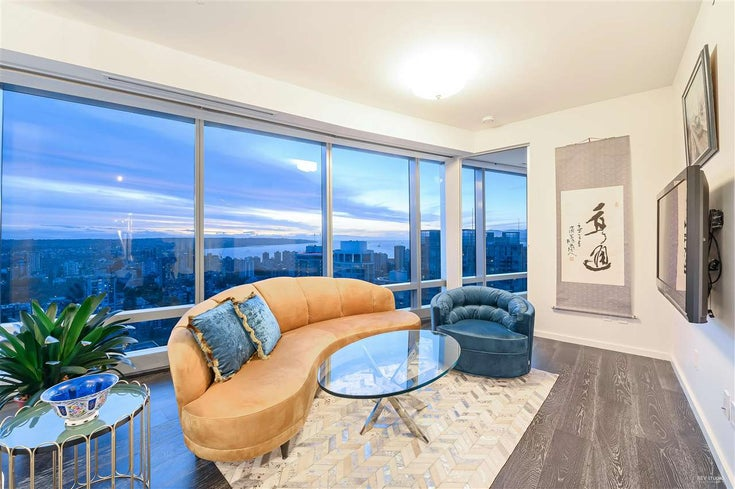 3902 1151 W GEORGIA STREET - Coal Harbour Apartment/Condo for sale, 2 Bedrooms (R2470091)