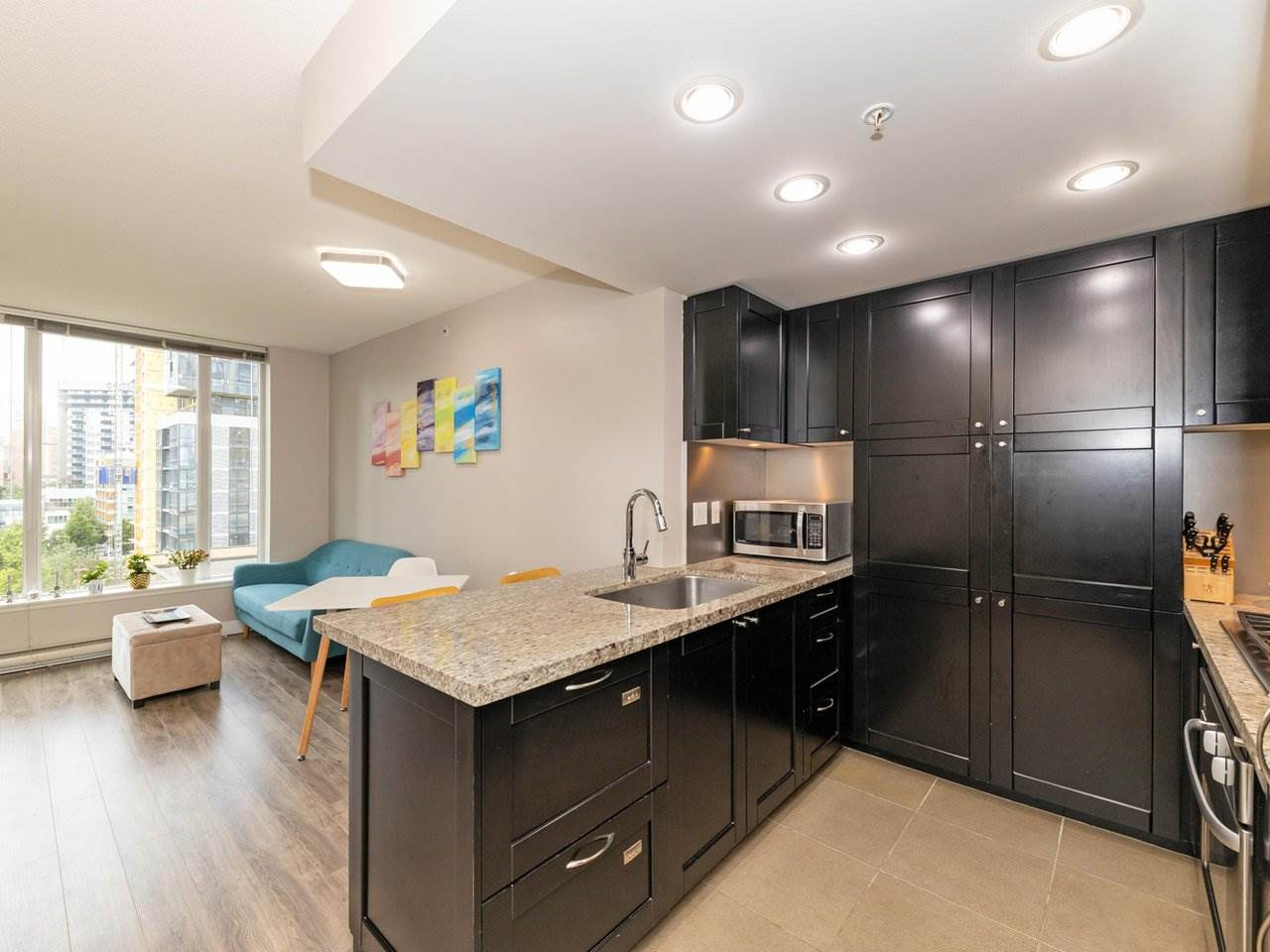 901 1133 HOMER STREET - Yaletown Apartment/Condo for sale, 1 Bedroom (R2470205)