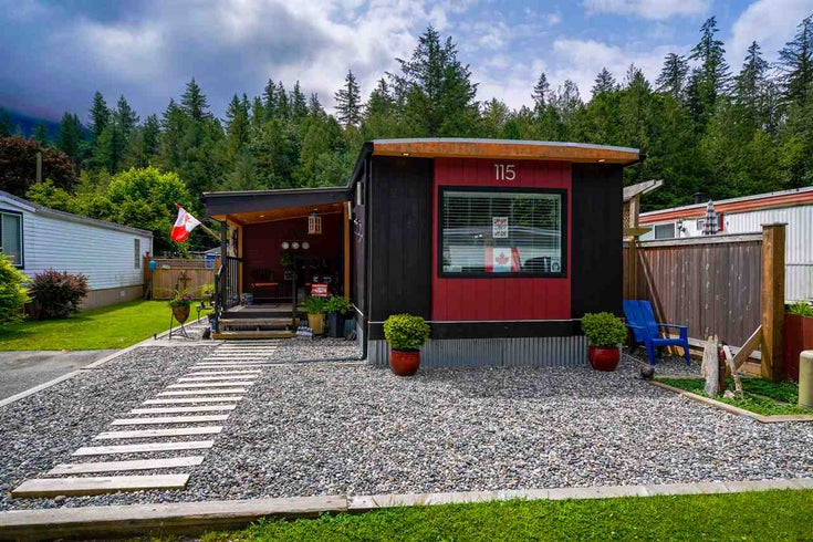 115 3942 COLUMBIA VALLEY ROAD - Cultus Lake Manufactured for sale, 1 Bedroom (R2470336)