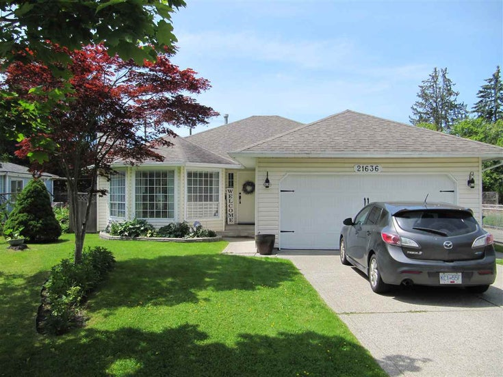 21636 50A AVENUE - Murrayville House/Single Family for sale, 3 Bedrooms (R2470520)