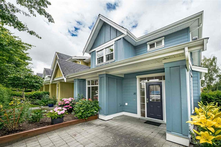10 4887 CENTRAL AVENUE - Hawthorne Townhouse for sale, 4 Bedrooms (R2470808)