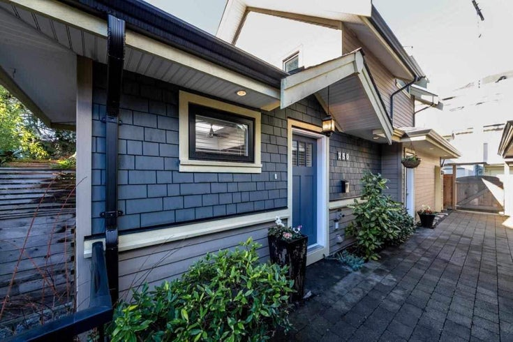 250 E 10TH STREET - Central Lonsdale 1/2 Duplex for sale, 2 Bedrooms (R2471068)