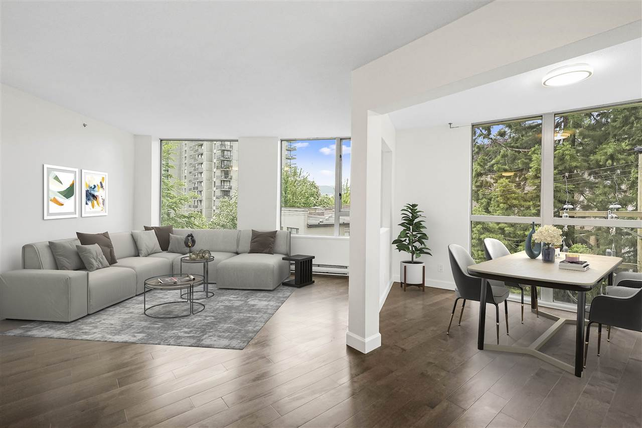 402 1277 NELSON STREET - West End VW Apartment/Condo for sale, 1 Bedroom (R2471639) - #1