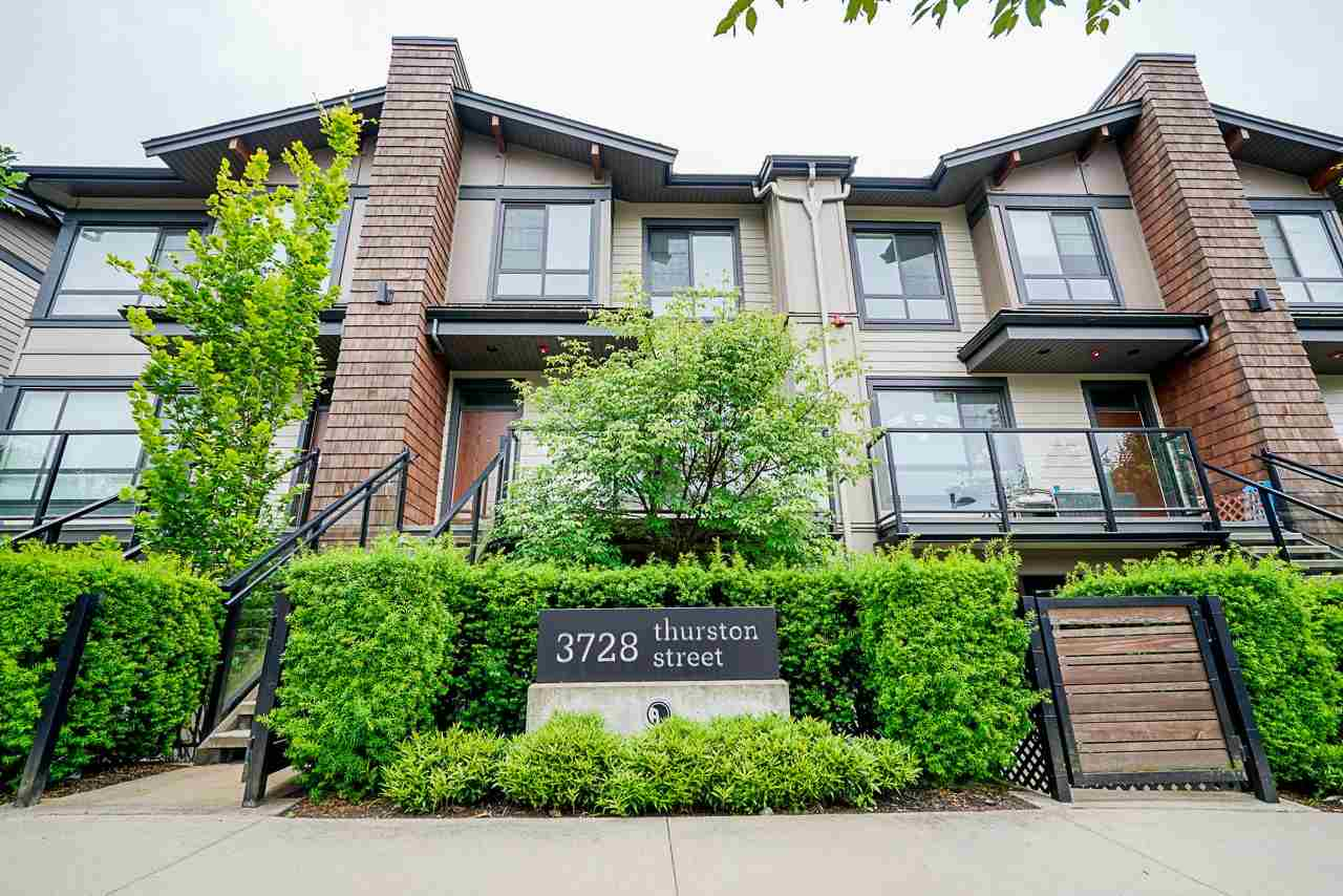 8 3728 THURSTON STREET - Central Park BS Townhouse for sale, 2 Bedrooms (R2472066)