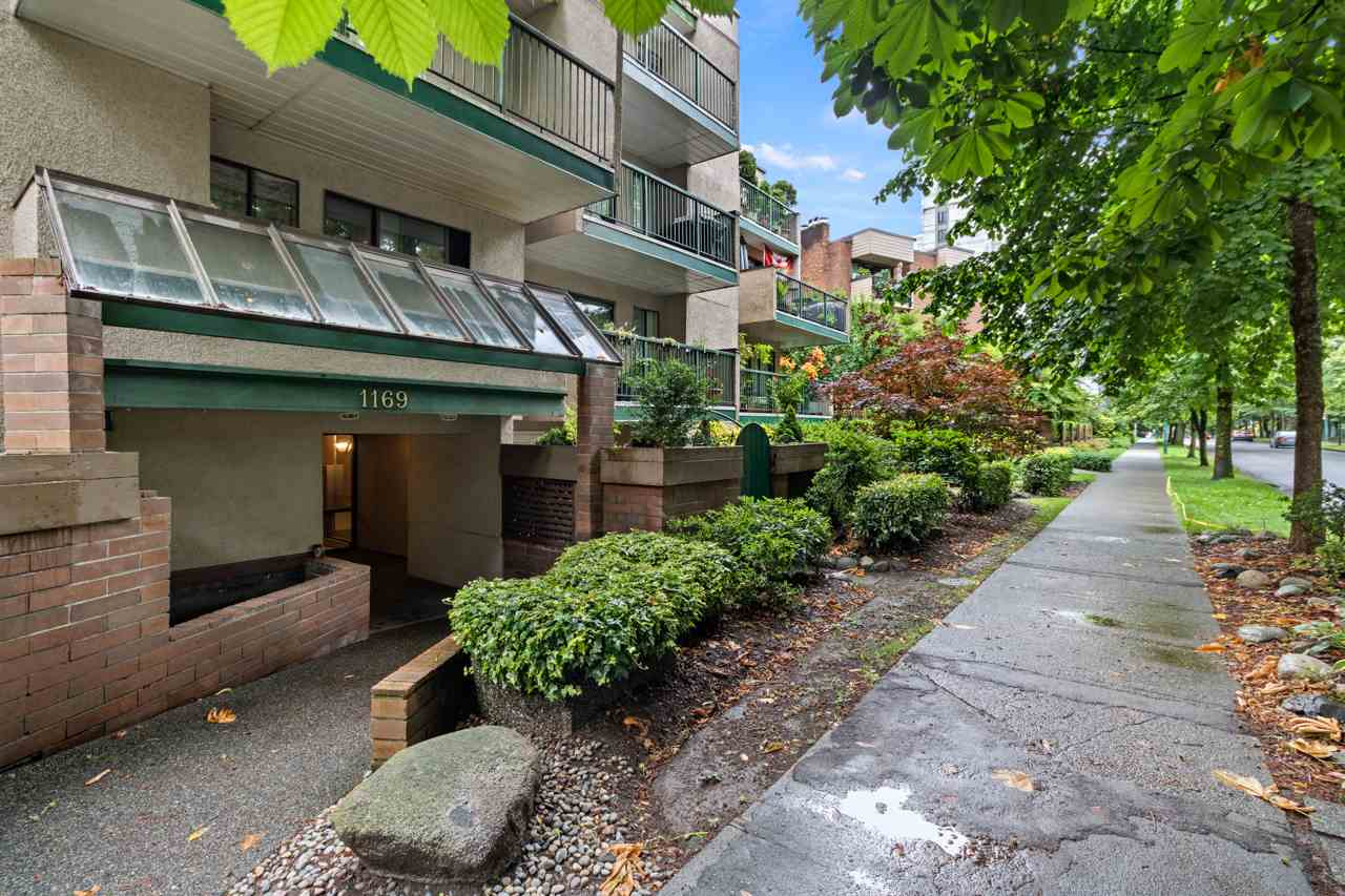 208 1169 NELSON STREET - West End VW Apartment/Condo for sale, 1 Bedroom (R2472467)