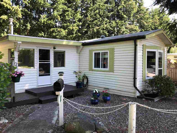 45 4116 BROWNING ROAD - Sechelt District Manufactured for sale, 2 Bedrooms (R2472545)