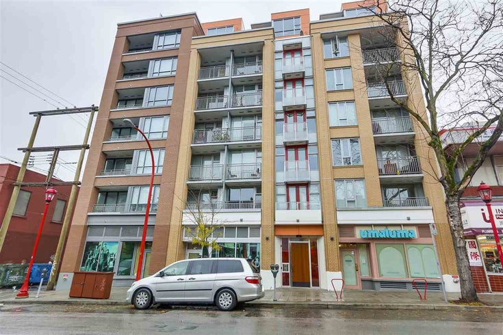 506 231 E PENDER STREET - Strathcona Apartment/Condo for sale, 1 Bedroom (R2472555)