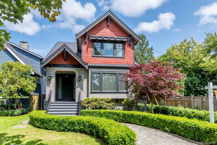 3125 W 11TH AVENUE - Kitsilano House/Single Family for sale, 4 Bedrooms (R2472929)