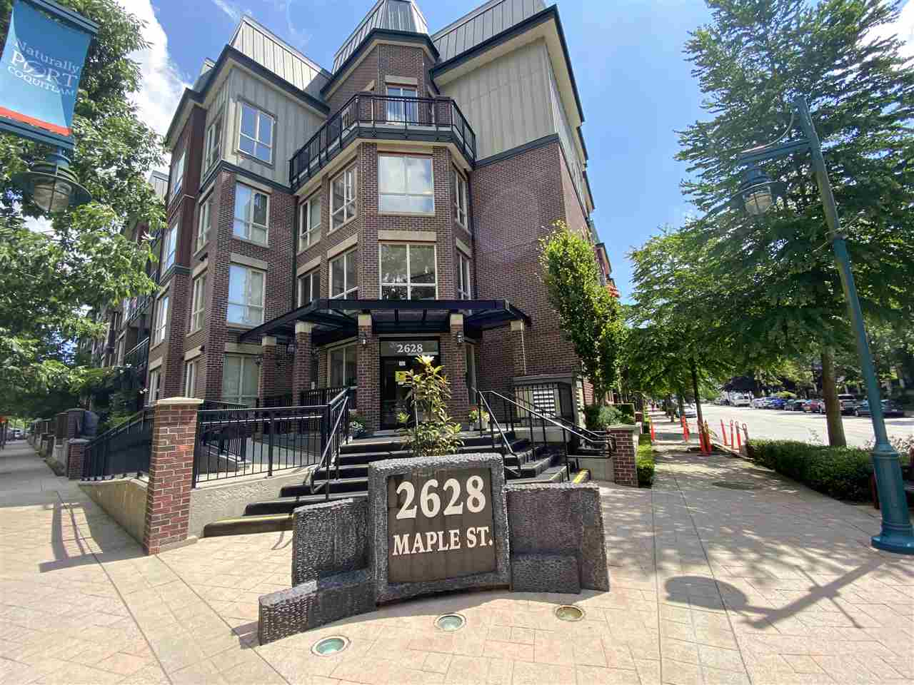 419 2628 MAPLE STREET - Central Pt Coquitlam Apartment/Condo for sale, 2 Bedrooms (R2473176) - #1