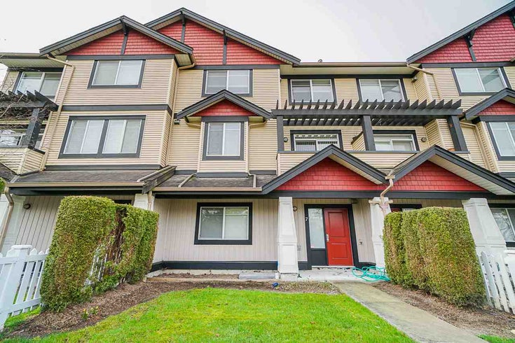 7 7168 179 STREET - Cloverdale BC Townhouse for sale, 3 Bedrooms (R2473677)