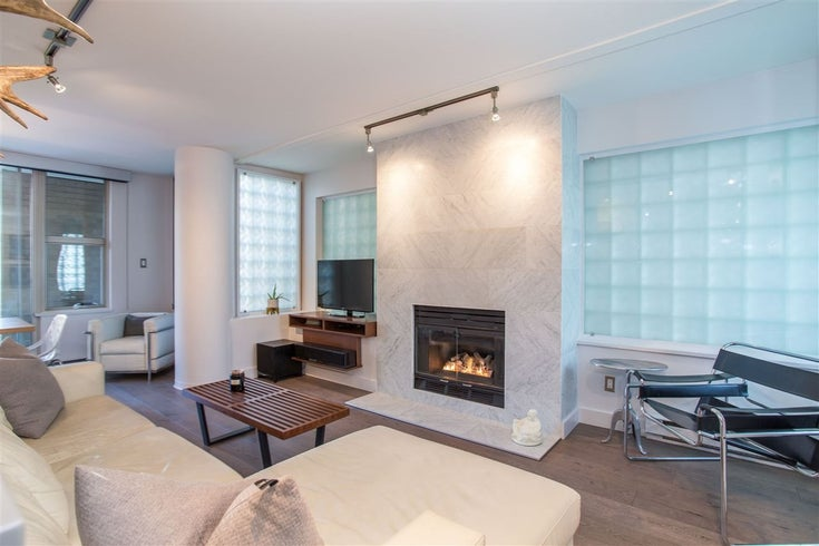 508 1500 HORNBY STREET - Yaletown Apartment/Condo for sale, 2 Bedrooms (R2473822)