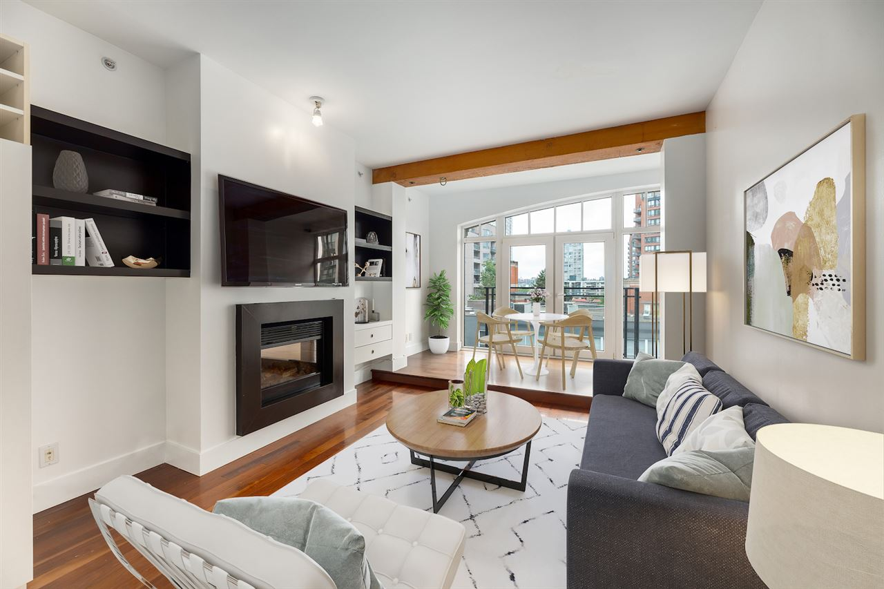 404 1275 HAMILTON STREET - Yaletown Apartment/Condo for sale, 1 Bedroom (R2473973)