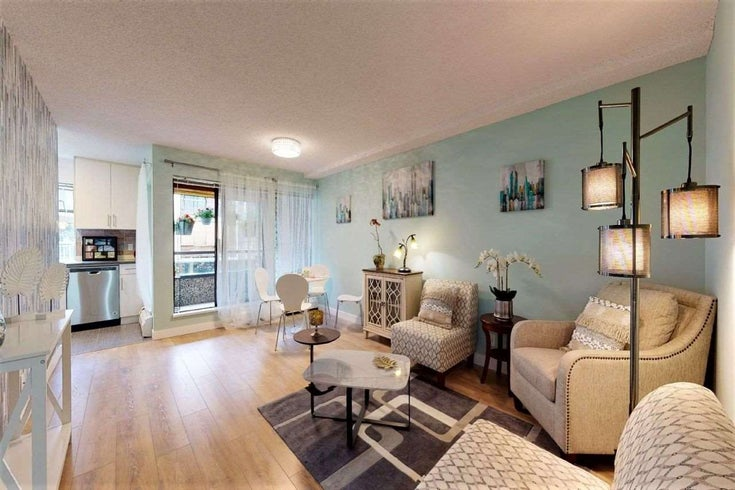 109 8451 WESTMINSTER HIGHWAY - Brighouse Apartment/Condo for sale, 1 Bedroom (R2473978)