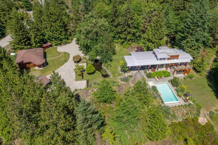 1099 BROOKSIDE ROAD - Bowen Island House with Acreage for sale, 4 Bedrooms (R2474435)