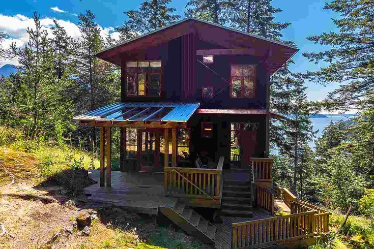 1180 MILLER ROAD - Bowen Island House/Single Family for sale, 2 Bedrooms (R2474906)