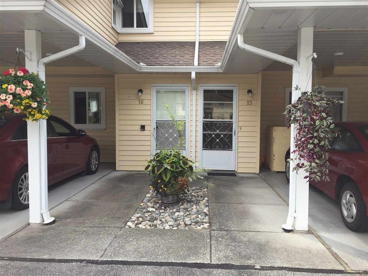 15 7525 MARTIN PLACE - Mission BC Townhouse for sale, 2 Bedrooms (R2475018)