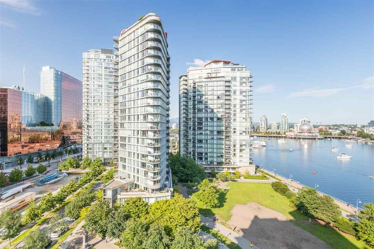 1206 980 COOPERAGE WAY - Yaletown Apartment/Condo for sale, 2 Bedrooms (R2475187)
