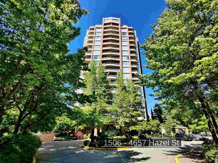 1506 4657 HAZEL STREET - Forest Glen BS Apartment/Condo for sale, 1 Bedroom (R2475227)