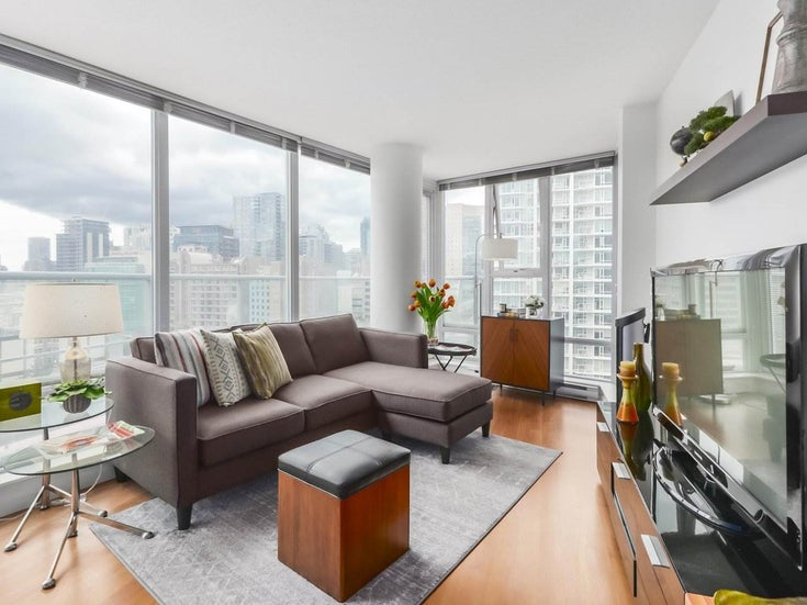 1203 111 W GEORGIA STREET - Downtown VW Apartment/Condo for sale, 2 Bedrooms (R2475666)