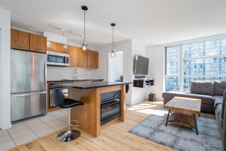 608 1199 SEYMOUR STREET - Downtown VW Apartment/Condo for sale, 1 Bedroom (R2475686)