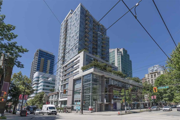 1907 821 CAMBIE STREET - Downtown VW Apartment/Condo for sale, 1 Bedroom (R2475727)