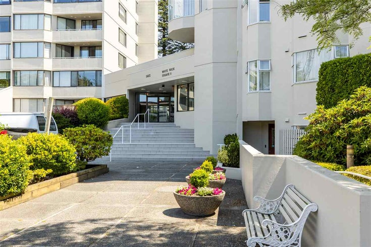 306 1442 FOSTER STREET - White Rock Apartment/Condo for sale, 2 Bedrooms (R2475965)